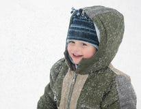 зима ребенка стоковое изображение