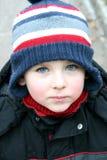 зима ребенка Стоковые Изображения