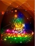 зима рождества карточки Стоковые Изображения RF