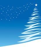 зима рождества предпосылки Стоковая Фотография