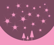 зима рождества предпосылки Стоковые Фотографии RF