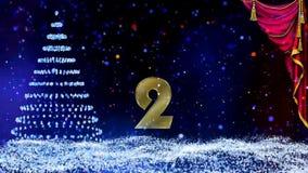 Зима, рождество, предпосылк-карта Нового Года с картой, текст и зеленый экран иллюстрация вектора