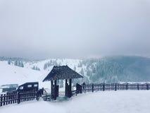 зима Румынии стоковые изображения rf