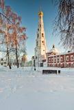 зима русского moscow России христианской церков Стоковая Фотография RF