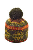 зима связанная шлемом Стоковое Фото