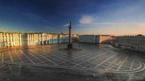зима святой petersburg дворца Россия сток-видео
