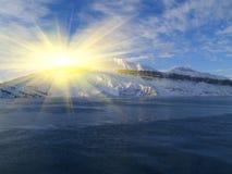 зима сезона свободного полета Стоковые Фото