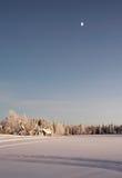 зима сельской местности Стоковое фото RF