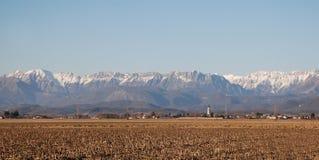 Зима сельское Panarama Стоковые Фото