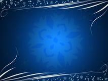зима сини предпосылки Стоковая Фотография