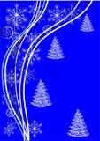 зима сини предпосылки Стоковое фото RF