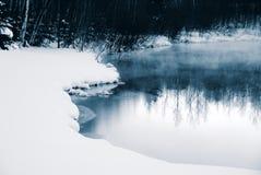 зима син Стоковые Изображения
