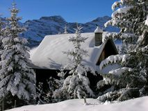 зима сказа Стоковые Фотографии RF