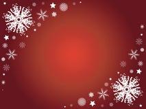 зима снежинки граници Стоковые Фото