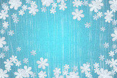 зима снежинки Стоковые Изображения RF