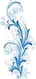 зима снежинок орнамента Стоковые Фото
