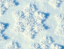 зима снежинок снежка рождества предпосылки Стоковое фото RF