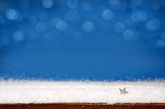 зима снежинок снежка рождества предпосылки Стоковое Изображение RF