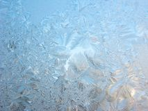 зима снежинок rexture предпосылки Стоковое Фото