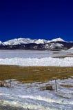 зима снежка гор colorado стоковое фото