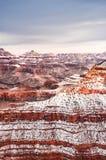 зима снежка каньона грандиозная Стоковое Изображение RF