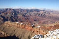 зима снежка каньона грандиозная Стоковые Фотографии RF