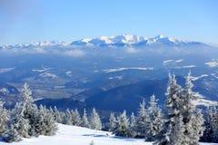 зима снежка места гор дома старая Стоковое Изображение