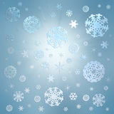 зима снежка праздника приветствию рождества карточки предпосылки Стоковые Фото