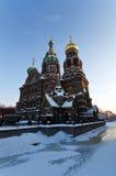 зима собора Стоковые Фотографии RF