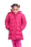зима солнца девушки дня ребенка ся Стоковые Изображения RF