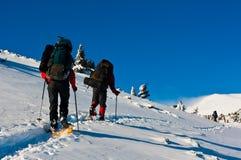 зима спорта гор Стоковая Фотография