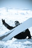 зима спорта уклада жизни принципиальной схемы Стоковые Фотографии RF