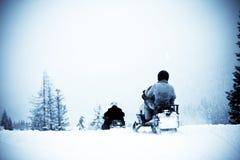 зима спорта Стоковые Изображения