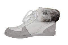 зима способа ботинка Стоковое фото RF