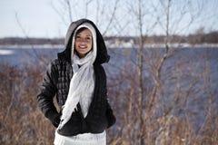 зима способа Стоковые Изображения