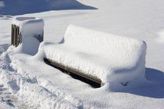 зима стенда Стоковая Фотография