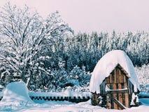 Зима страны Стоковые Изображения RF