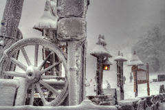 зима тайны Стоковые Фотографии RF