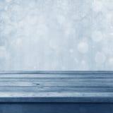 Зима тонизировала предпосылку bokeh стоковая фотография rf