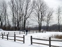 зима тренировки Стоковые Изображения RF