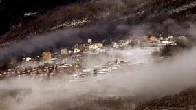 зима тумана стоковое изображение rf