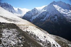 зима Украины горы ландшафта dragobrat стоковая фотография rf