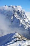зима Украины горы ландшафта dragobrat Стоковое Изображение RF