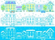 зима улиц Стоковое фото RF