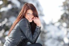 зима усмешки Стоковые Фотографии RF