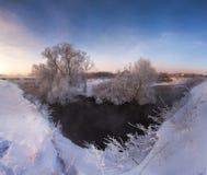 Зима улыбки Стоковые Изображения RF