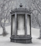 зима фантазии здания Стоковая Фотография RF