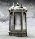 зима фонарика Стоковая Фотография