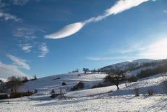 зима холмов Стоковые Фото