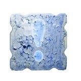 Зима холода плиты восклицательного знака grungy Стоковая Фотография RF